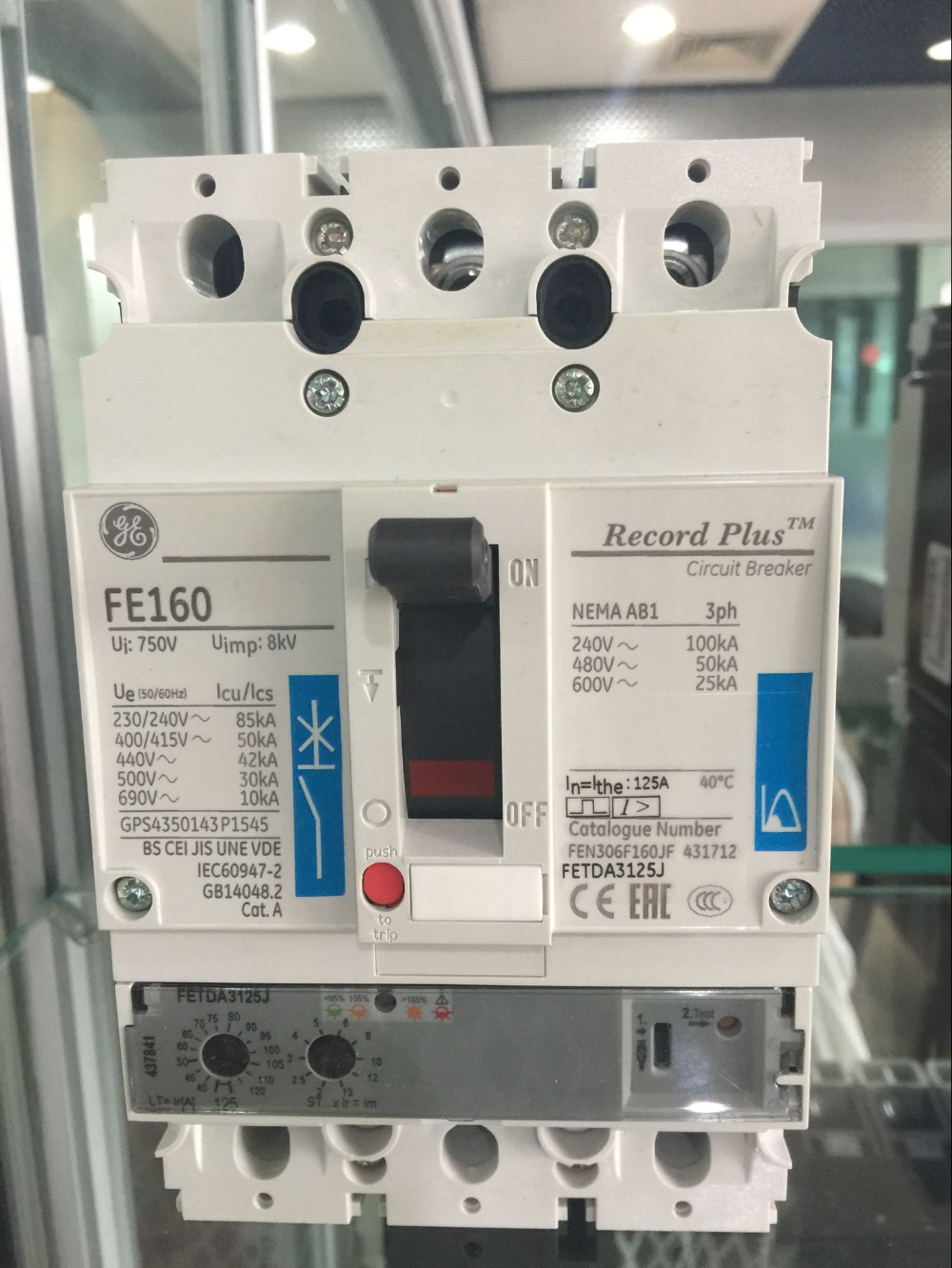 Jackwell Rosemount Yokogawa Ge Products Supplierge Electrical Circuit Breakers For Sale Dc Breaker Electronic Distribution Molded Case Reco